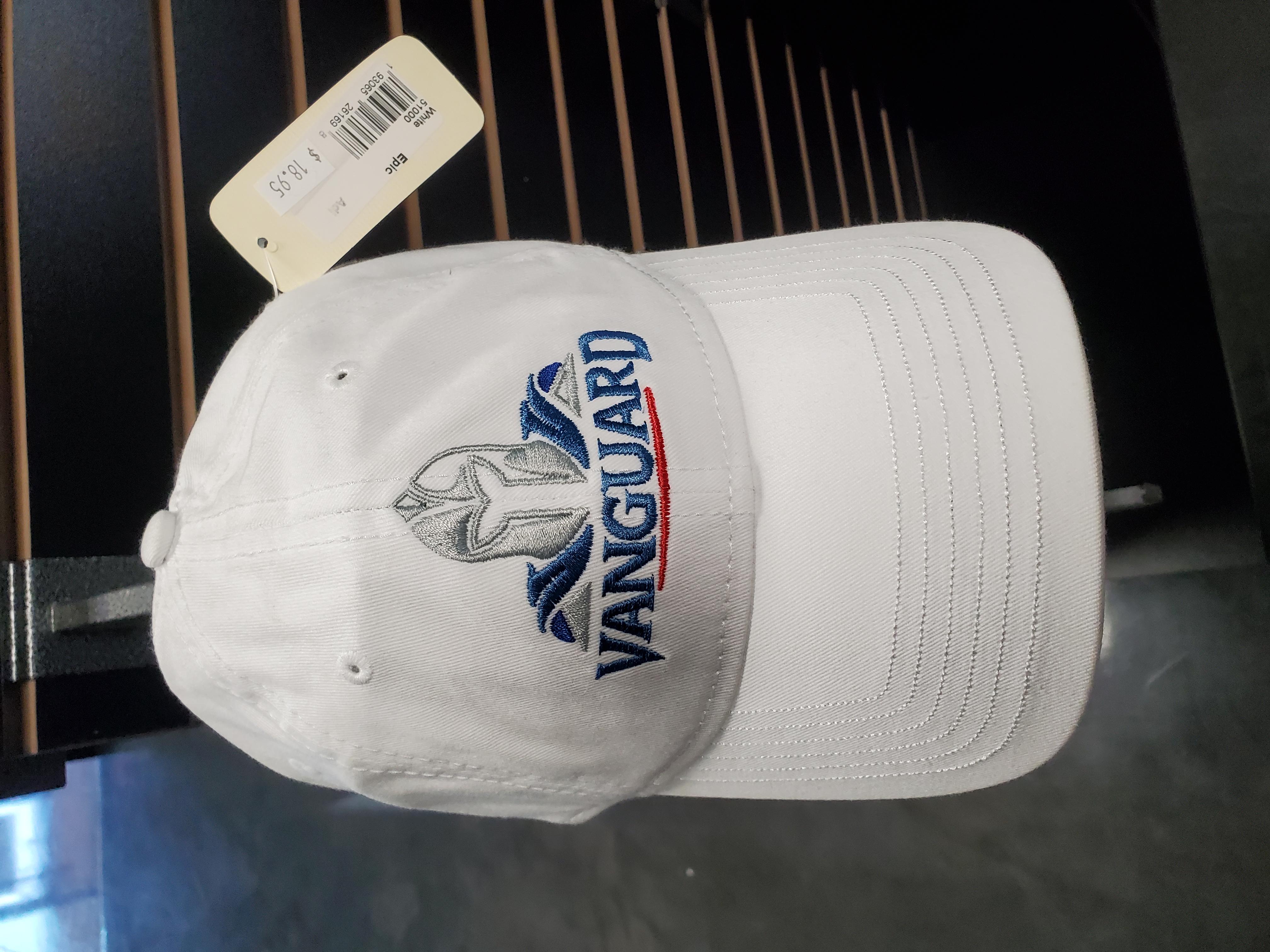 White Vanguard Cap