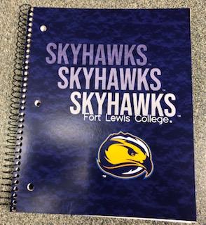 FLC Skyhawks 3-Subject Notebook