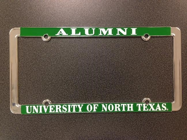 ALUMNI LICENSE PLATE COVER