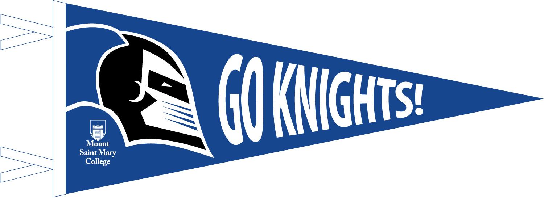 Go Knights Pennant