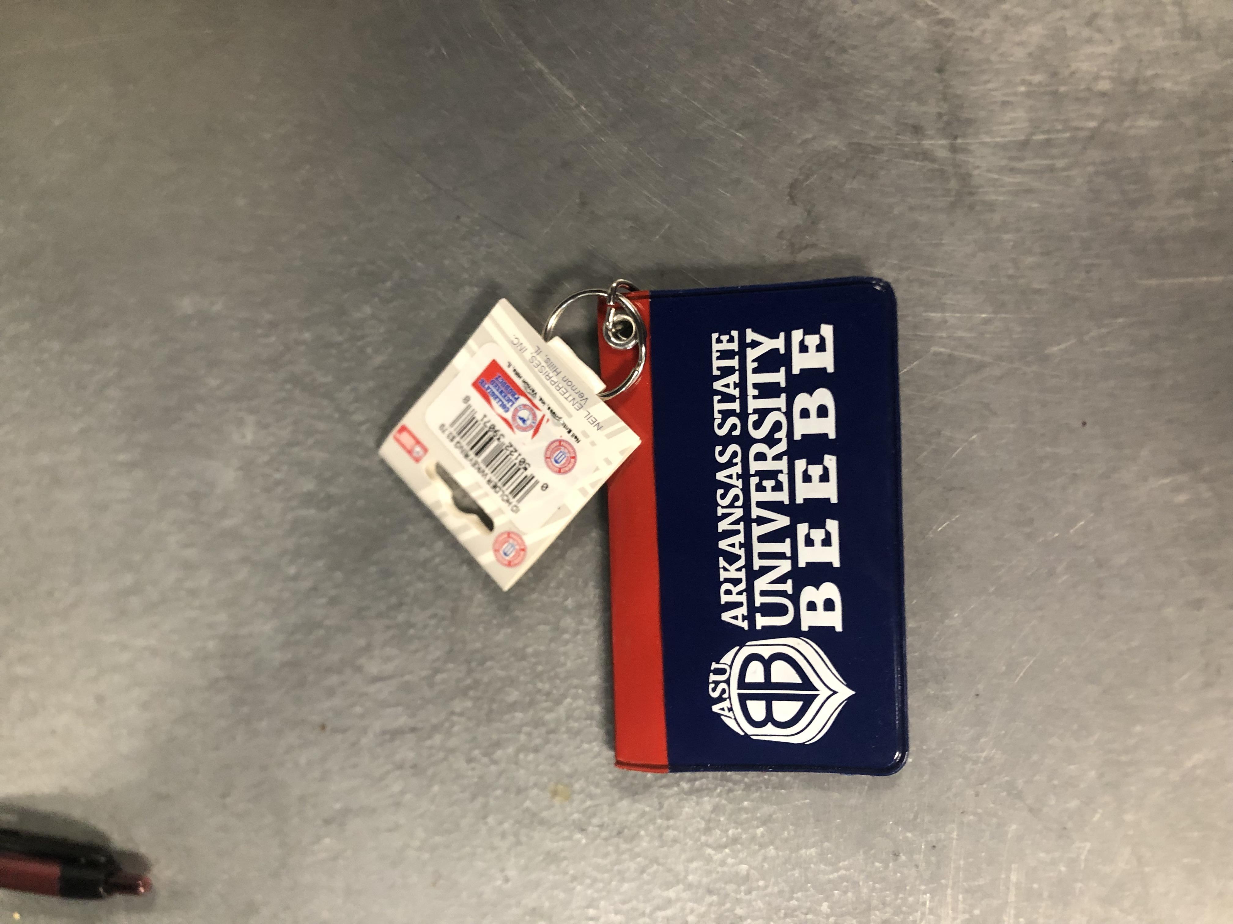 ASUB ID Holder W/ Key Ring