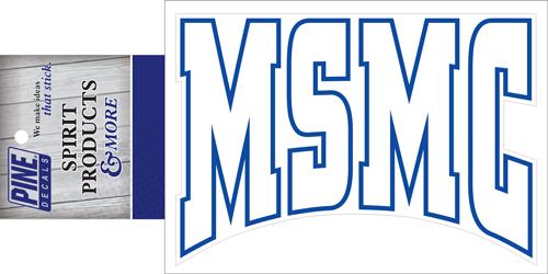Decal - MSMC Initials
