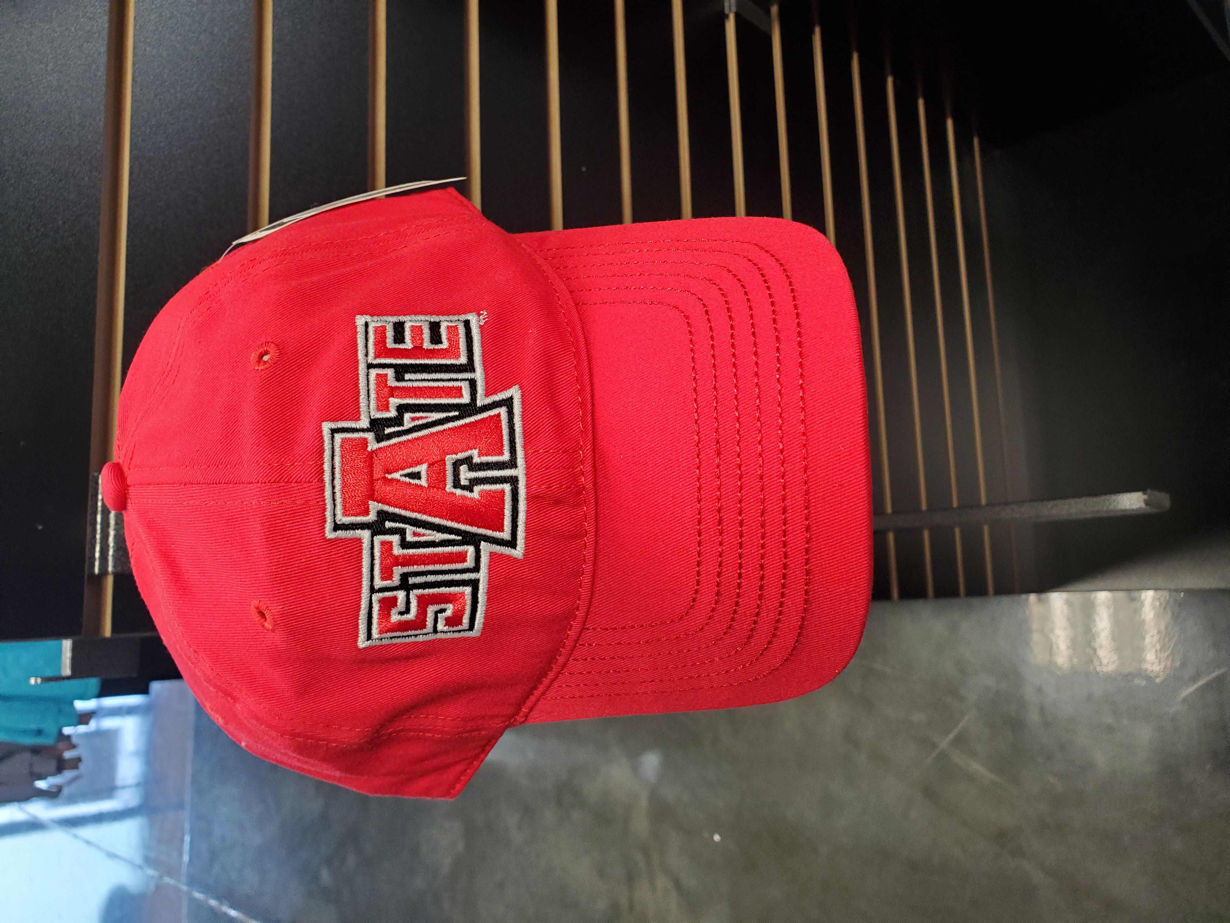 Red A-State Cap