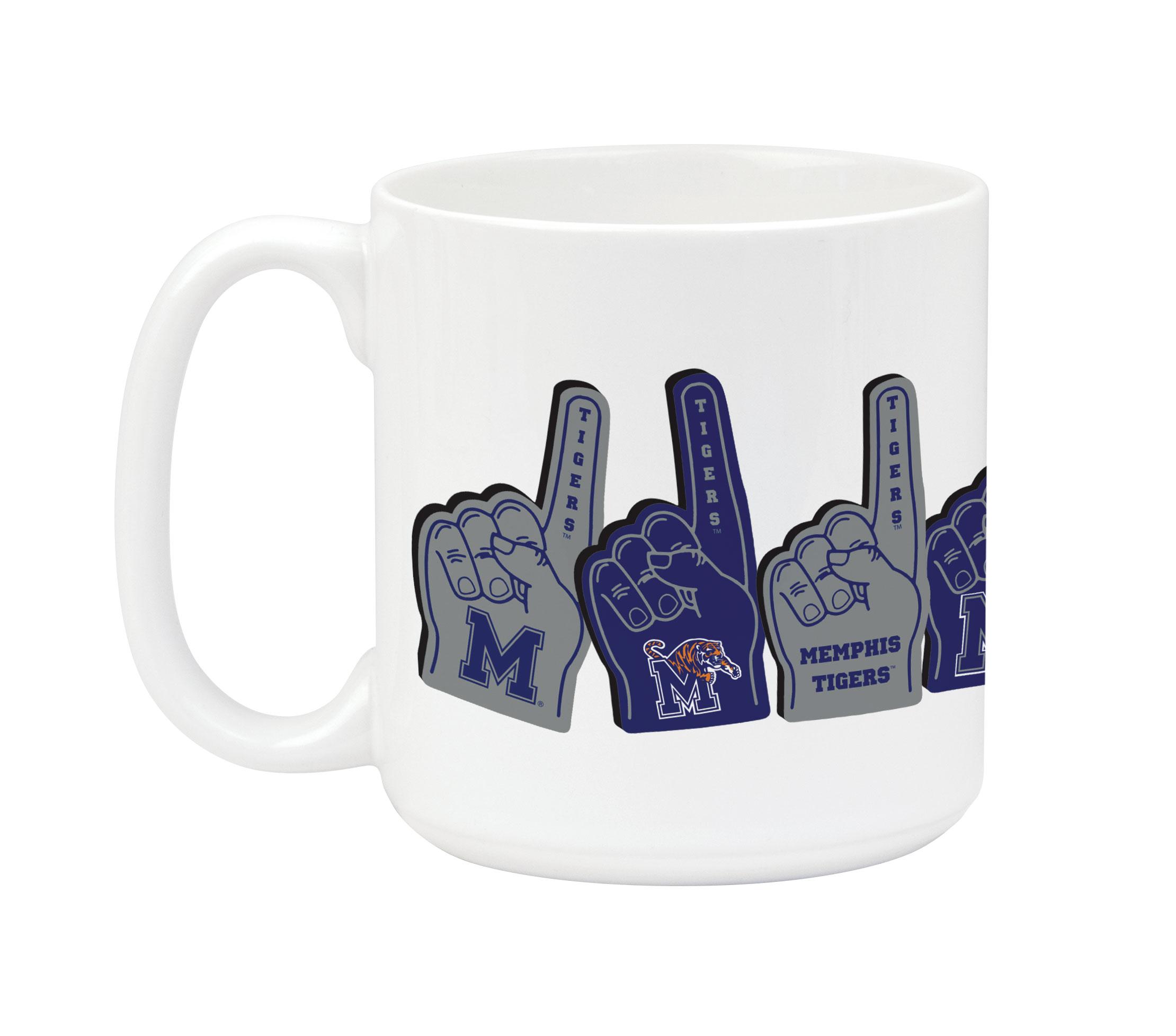 University of Memphis Foam Finger Mug