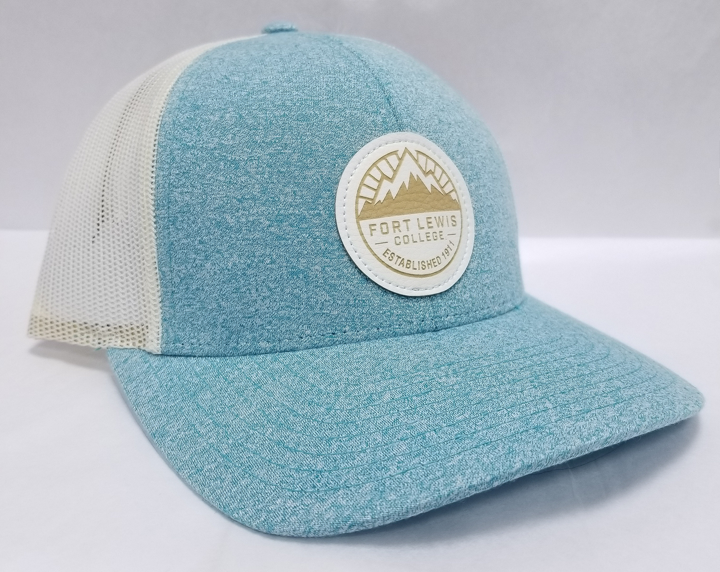 FLC White Patch Mesh Trucker Hat
