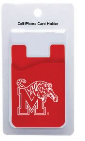 University of Memphis Cell Phone Card Holder
