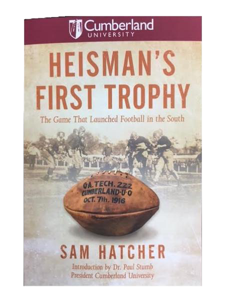 Heisman's First Trophy by Sam Hatcher
