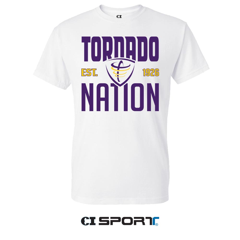 Tornado Nation Tee - White