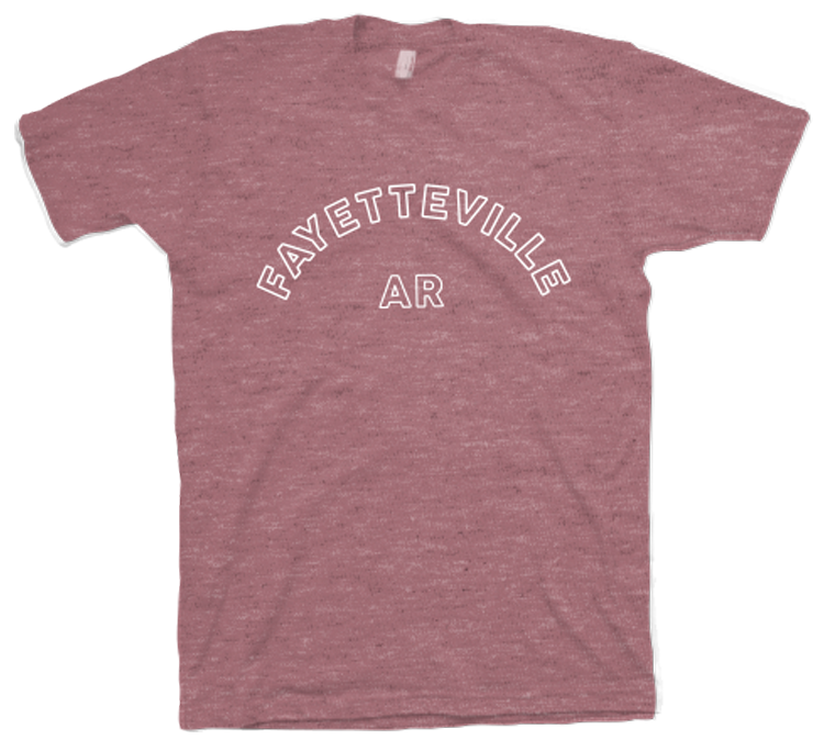 M Fayetteville AR Arch SS Tee