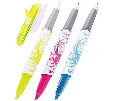 Post-It Flags Plus Highlighter Plus Pen