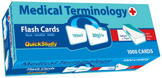MED TERMINOLOGY FLASH CARDS