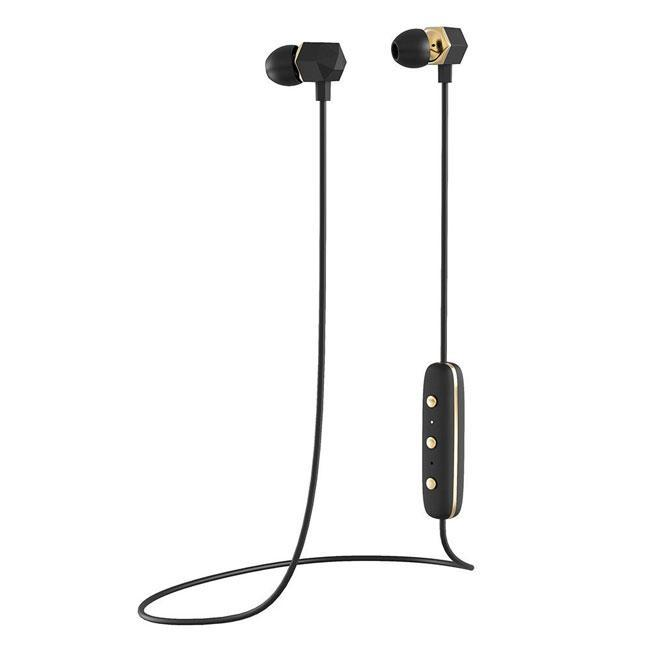 Happy Plugs Ear Piece Wireless Earbuds - Black