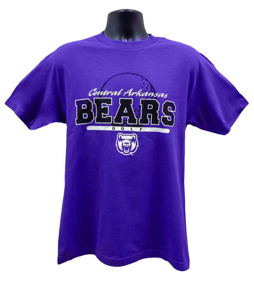 Golf Central Arkansas Bears Tee