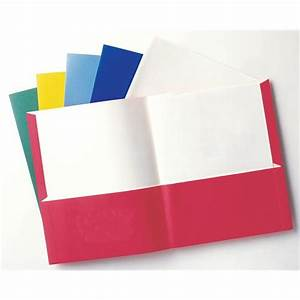 Assorted 2 Pocket Folder