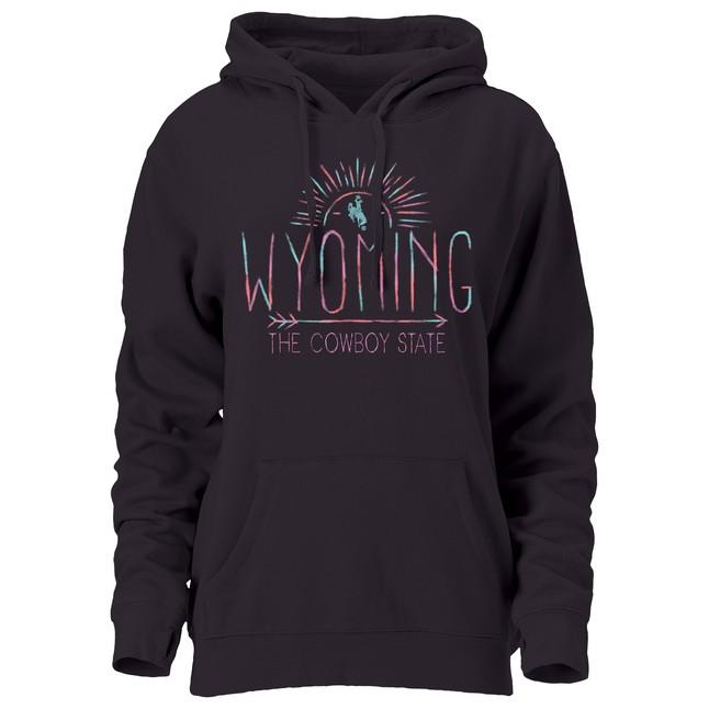 """Wyoming The Cowboy State"" Hoodie"