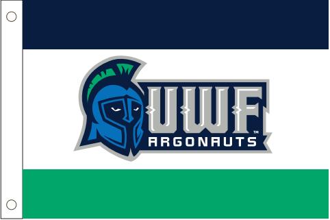 UWF ARGONAUTS FLAG