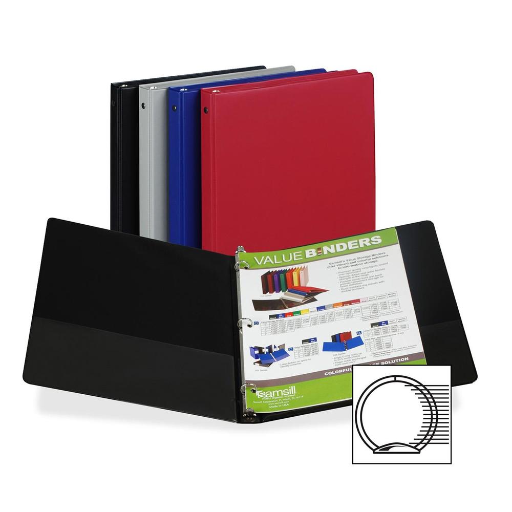 Samsill Value Storage Pocket Binder .5in