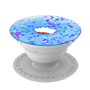 Blue Donut Popsocket