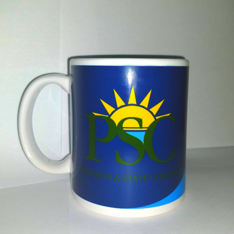 PENSACOLA STATE COLORFUL MUG