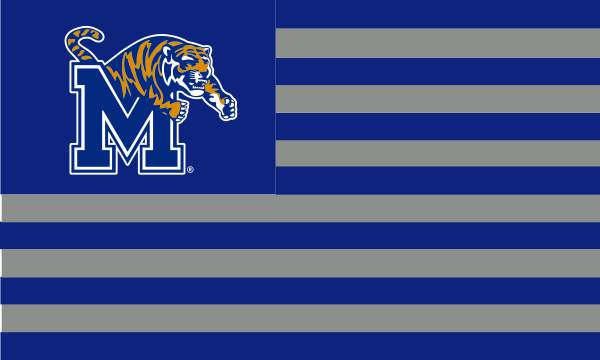 3'x5' Silk Screened University Flag with Grommets