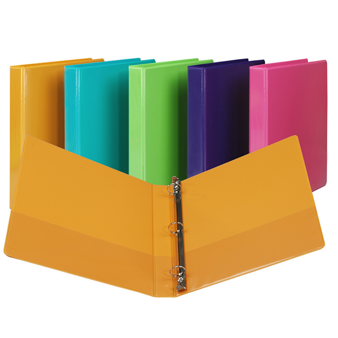 "1 1/2"" Multi-Color Binder"