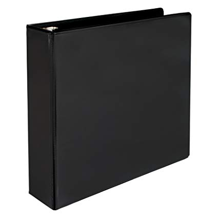 Samsill 2 INCH BINDER BLACK