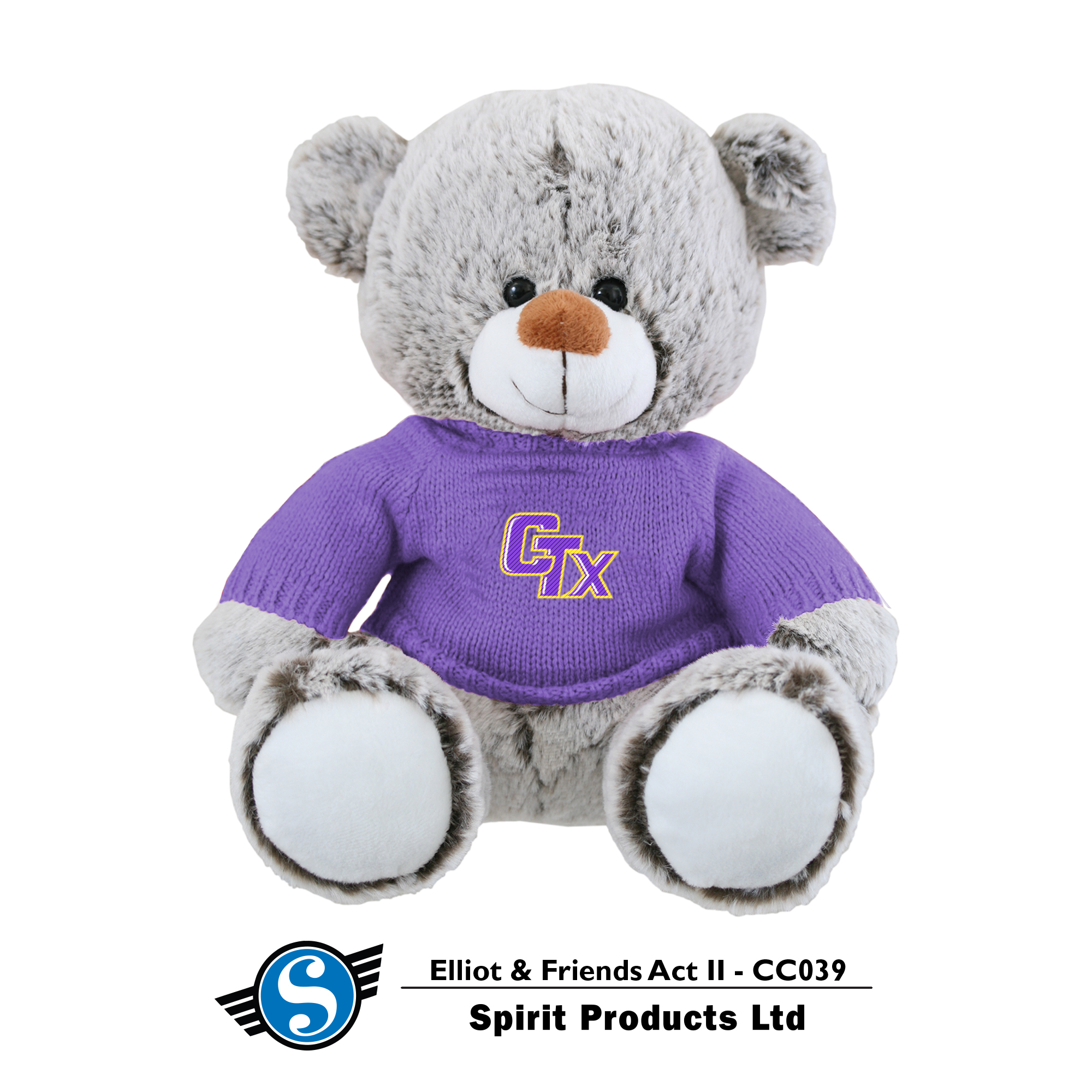 Bear in CTX Sweater - Frosted Espresso