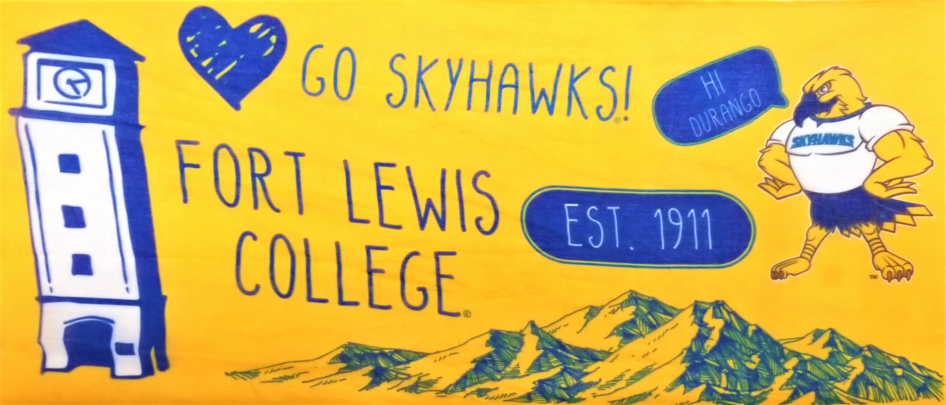 Fort Lewis College  Women's Scarf