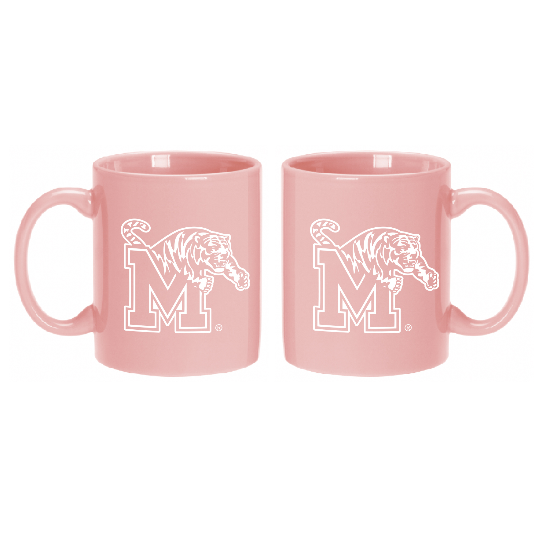 University of Memphis Mug-Pink