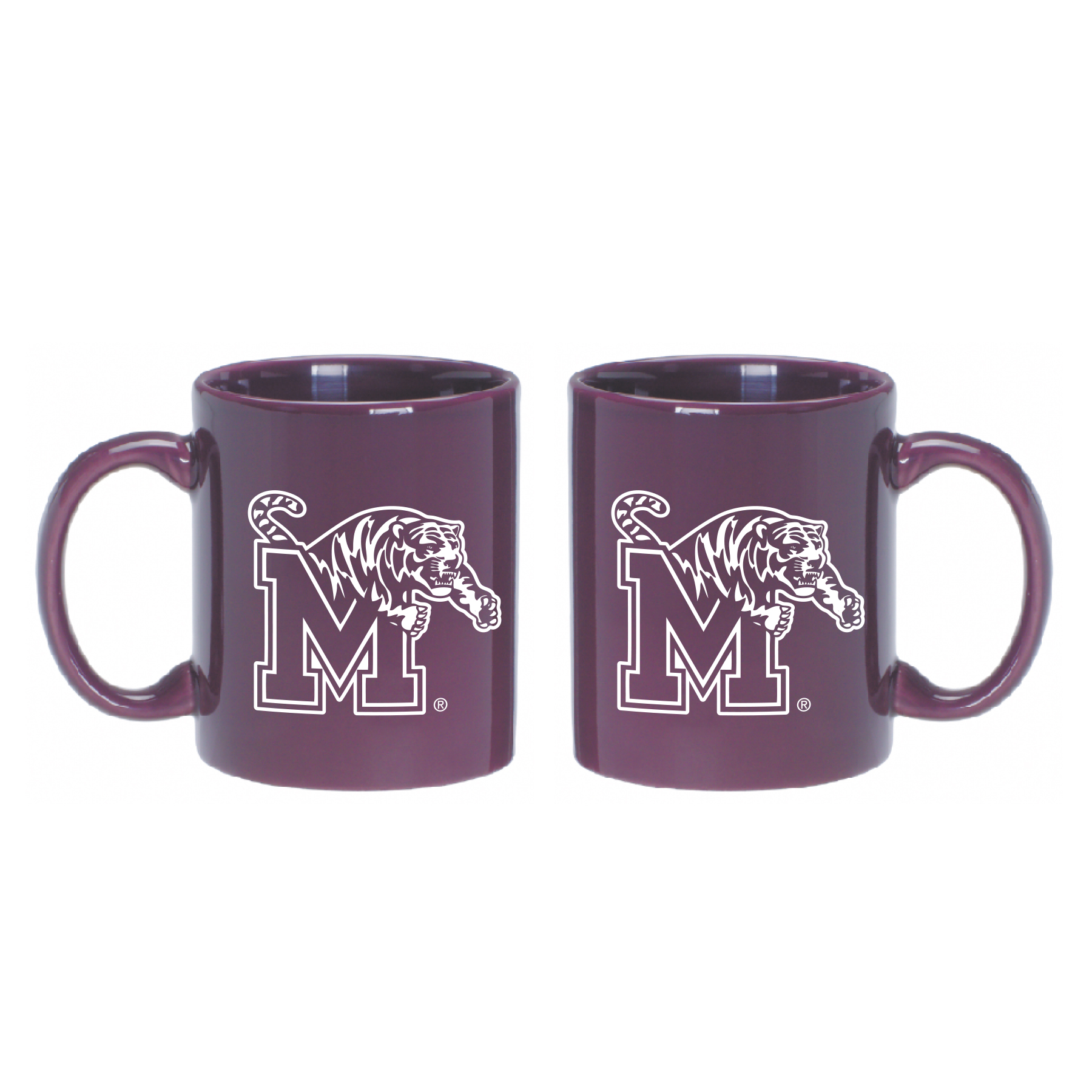 University of Memphis Mug-Dark Purple