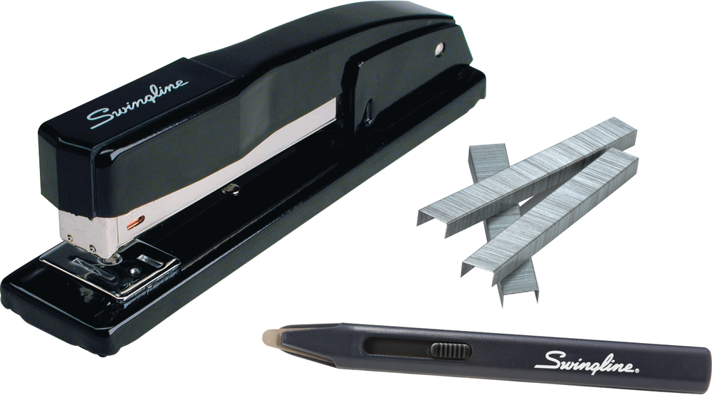 Swingline Commercial Desk Stapler Value Pack - Black Standard 1Pk BP 20 Sht Capacity-Value Pack