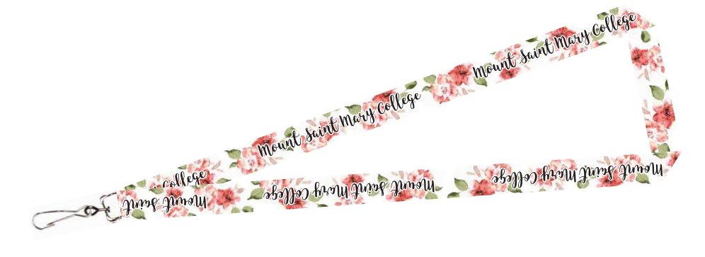 MSMC Floral Lanyard