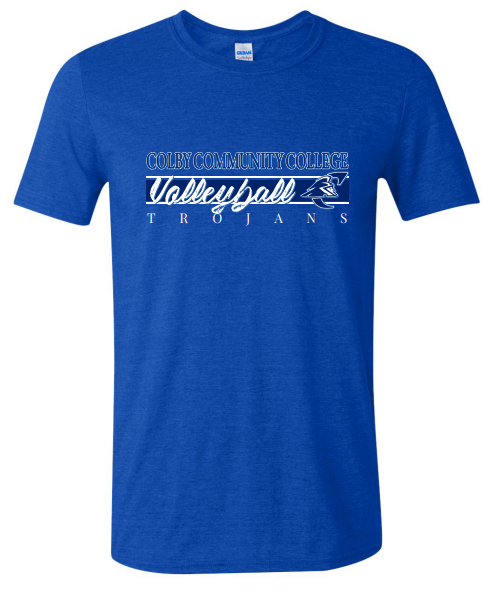 Volleyball Dept T Shirt