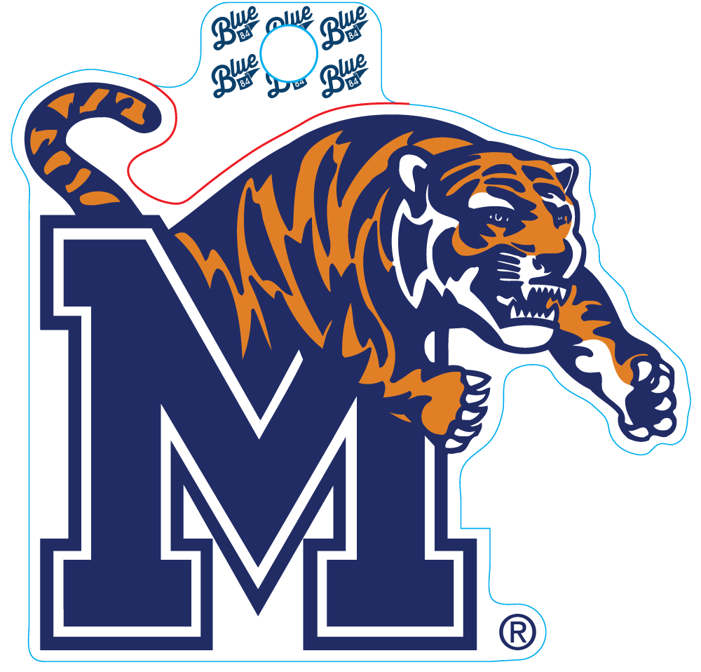 University of Memphis Decal
