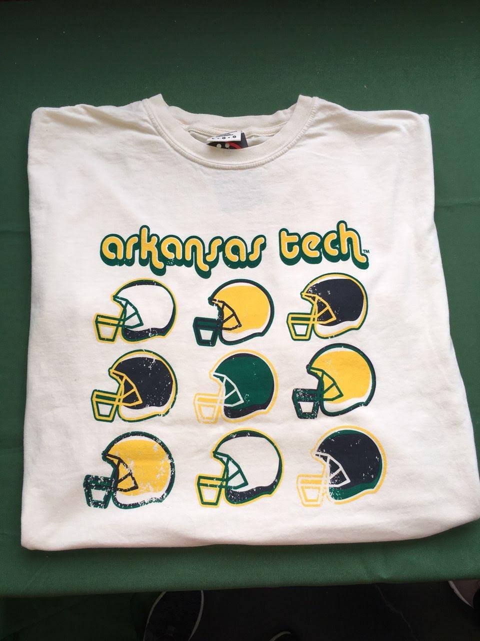 Arkansas Tech Retro Football Helmets
