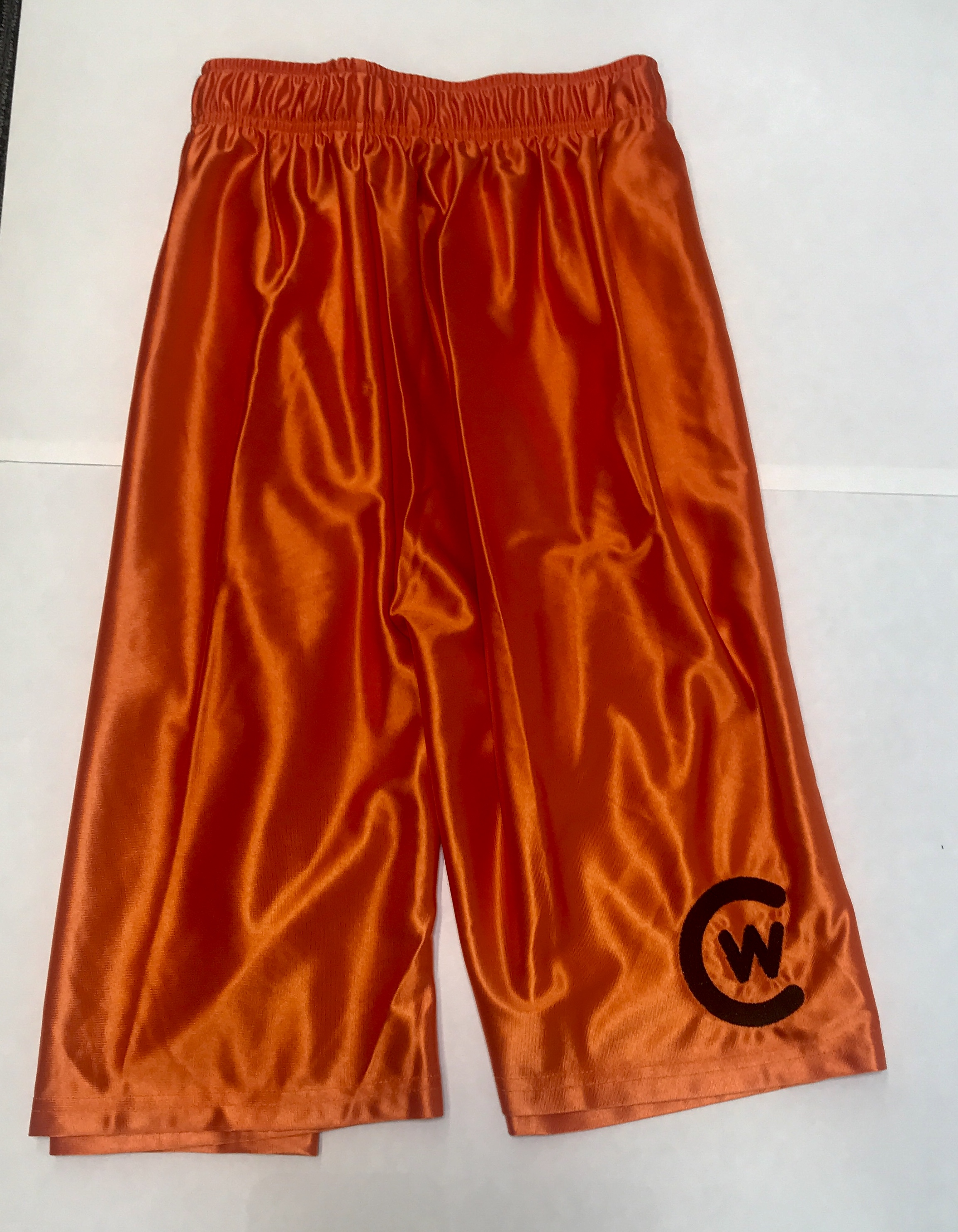 Orange CW Shorts