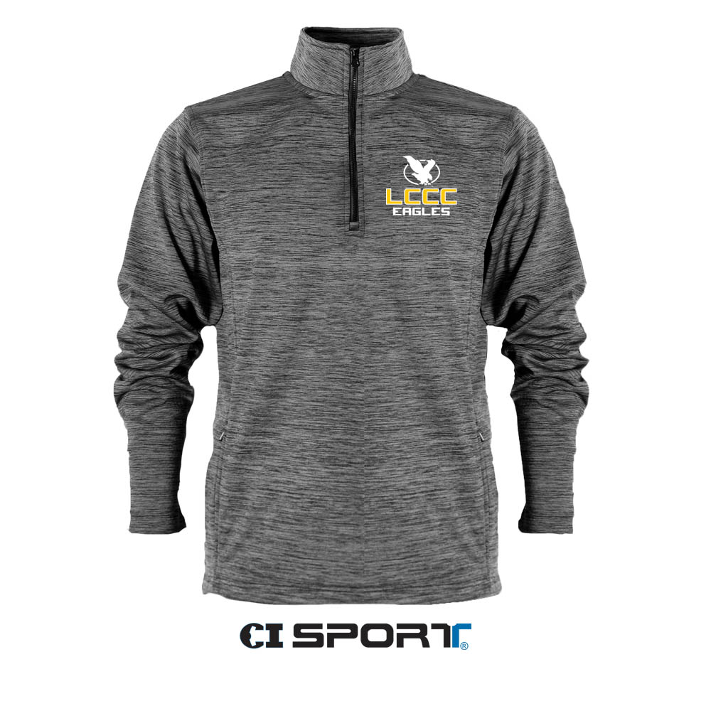 LCCC Eagles Honeycomb 1/4 Zip