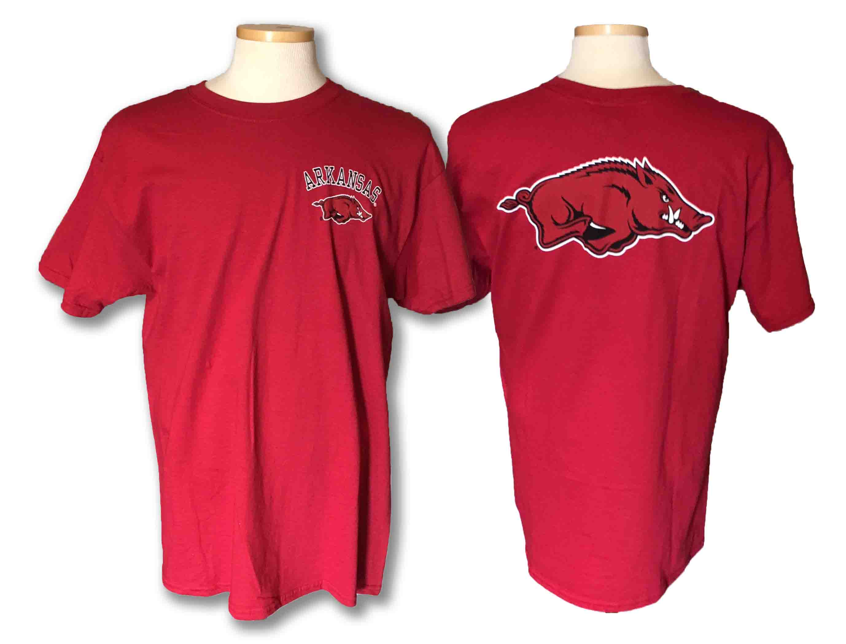 Arkansas Pocket Logo with Logo on back