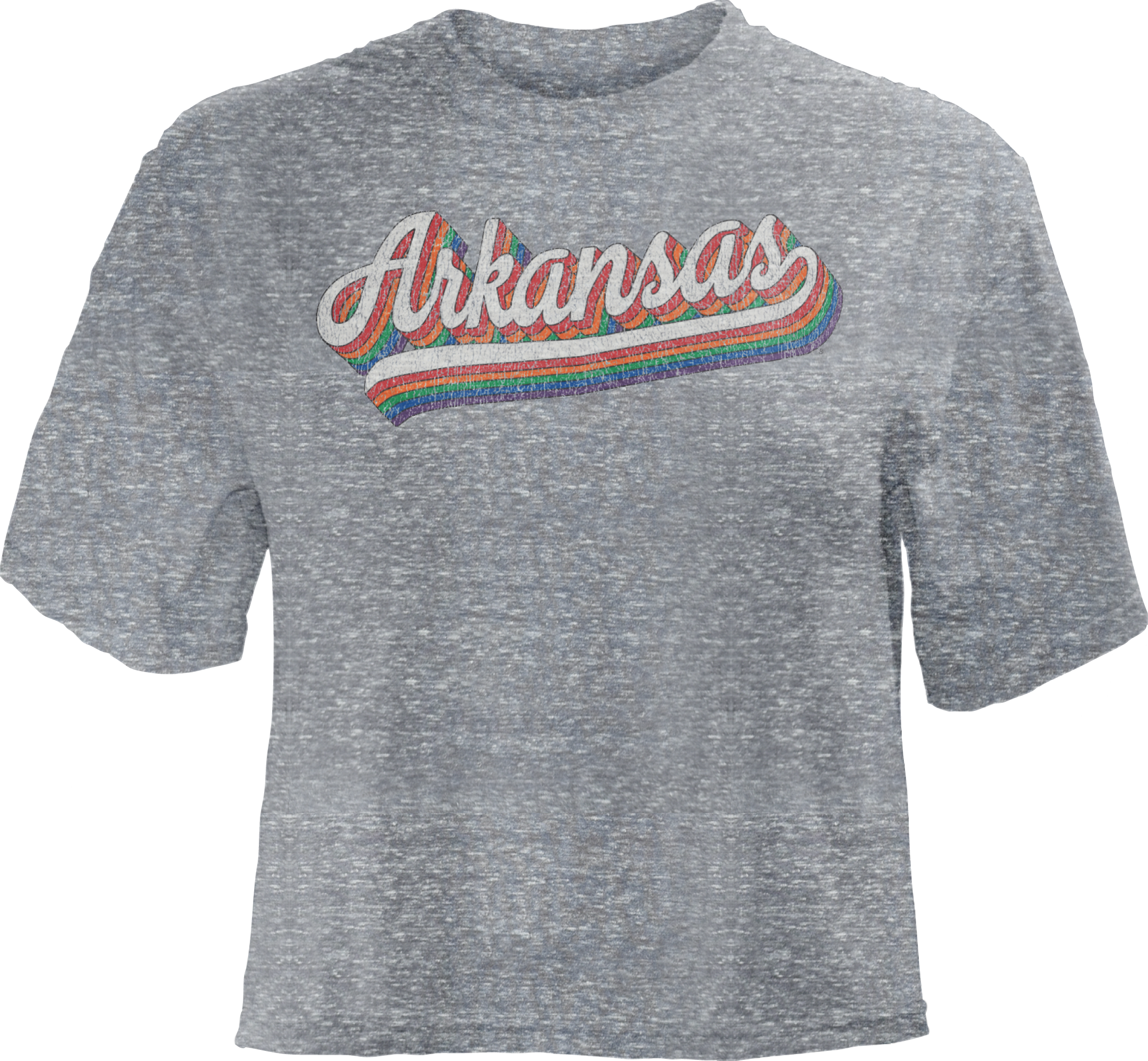 Pressbox Vintage Rainbow Crop