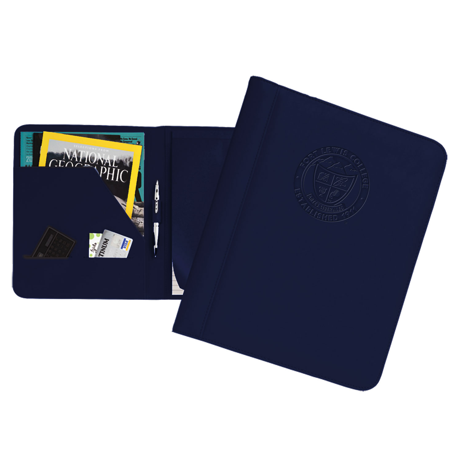FLC Faux-Leather Portfolio