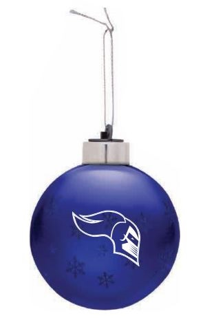 Glass Light Up Ornament