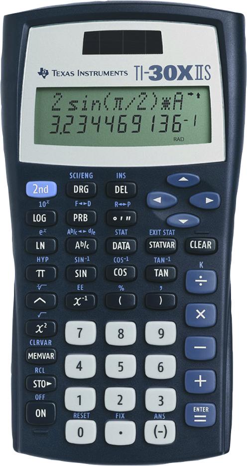 TI-30XIIS Scientific Calculator