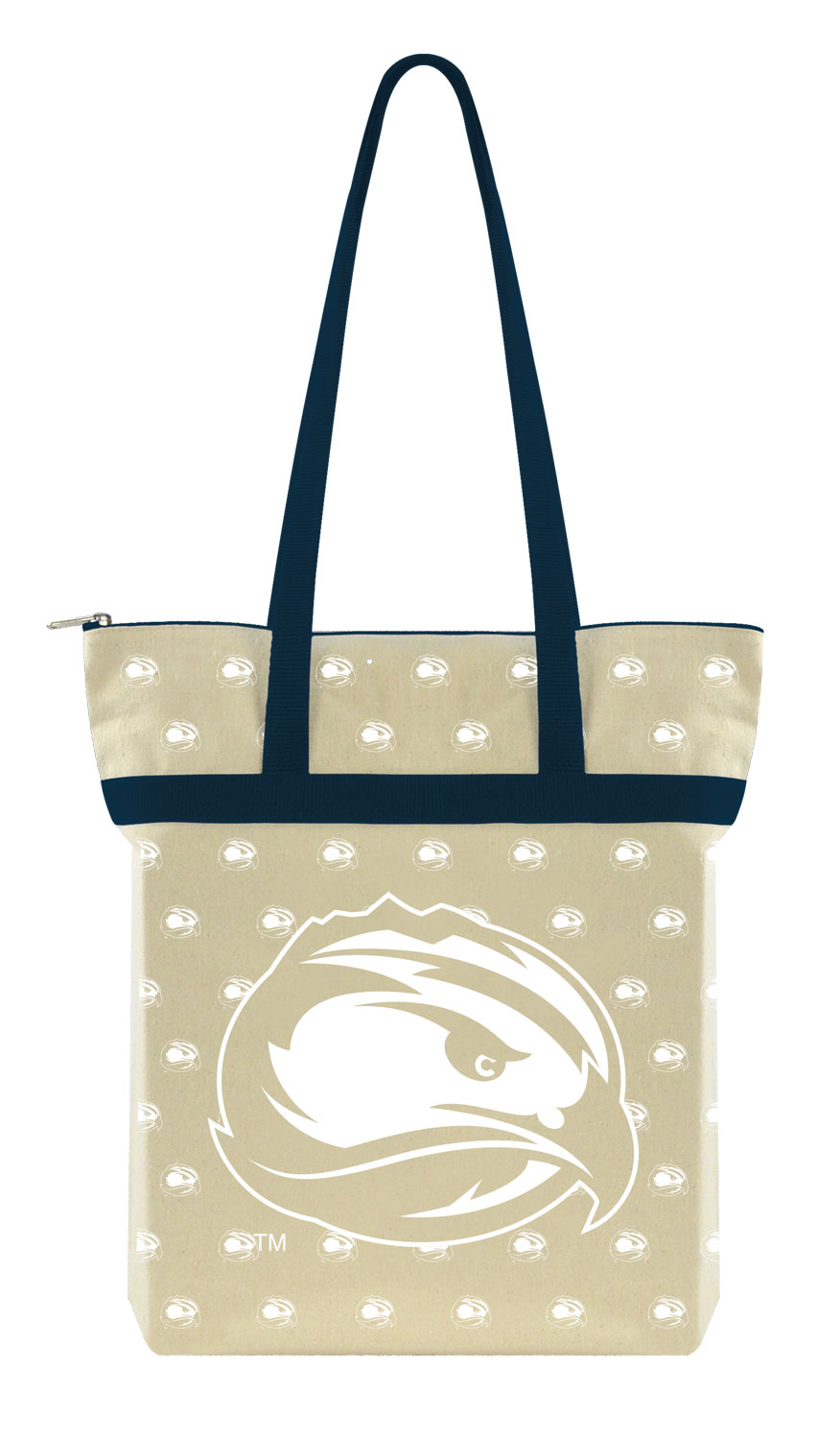 FLC Canvas Tote with Zipper