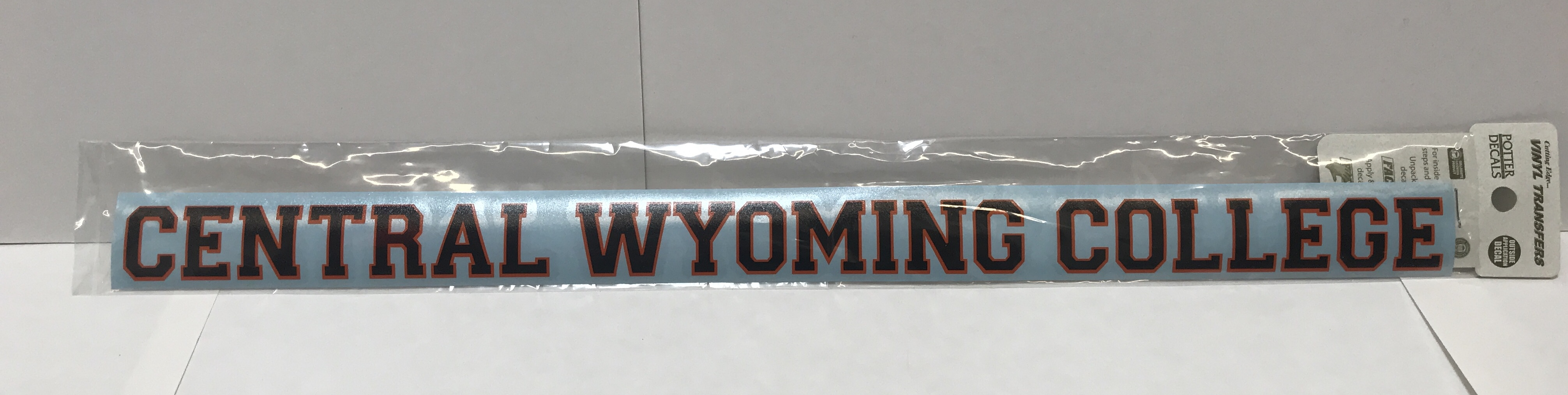 Central Wyoming College Window Decal