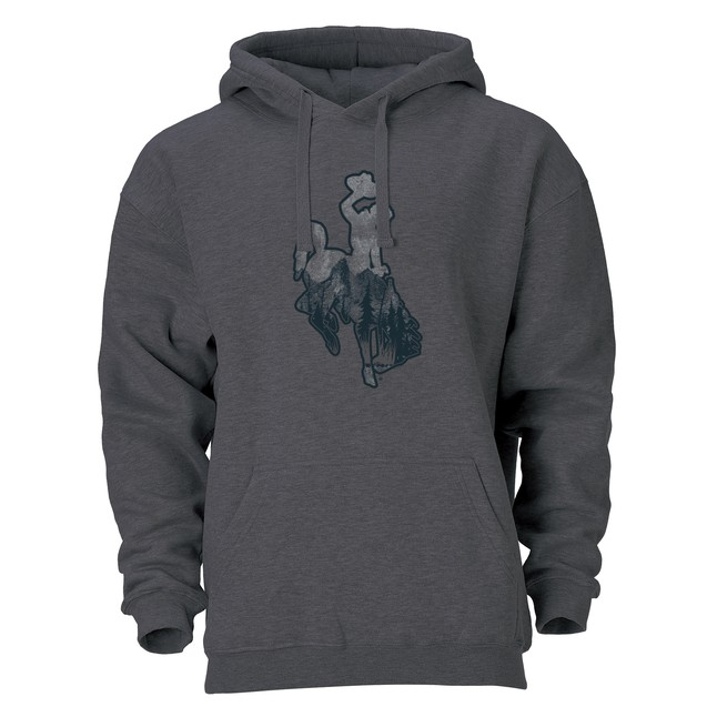 Wyoming Bucking Horse Spirit Hood