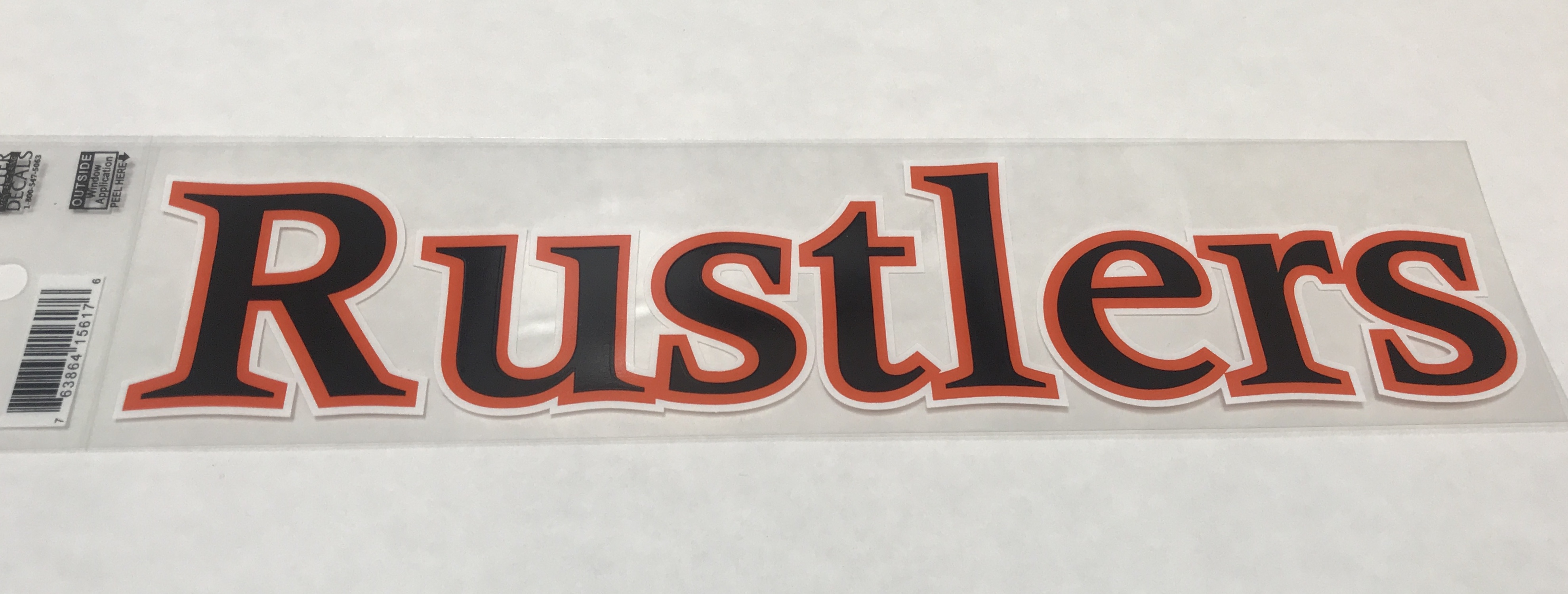 Rustlers Window Decal