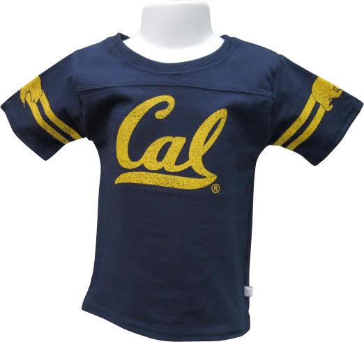 University of California Berkeley Girls Yoked Tee