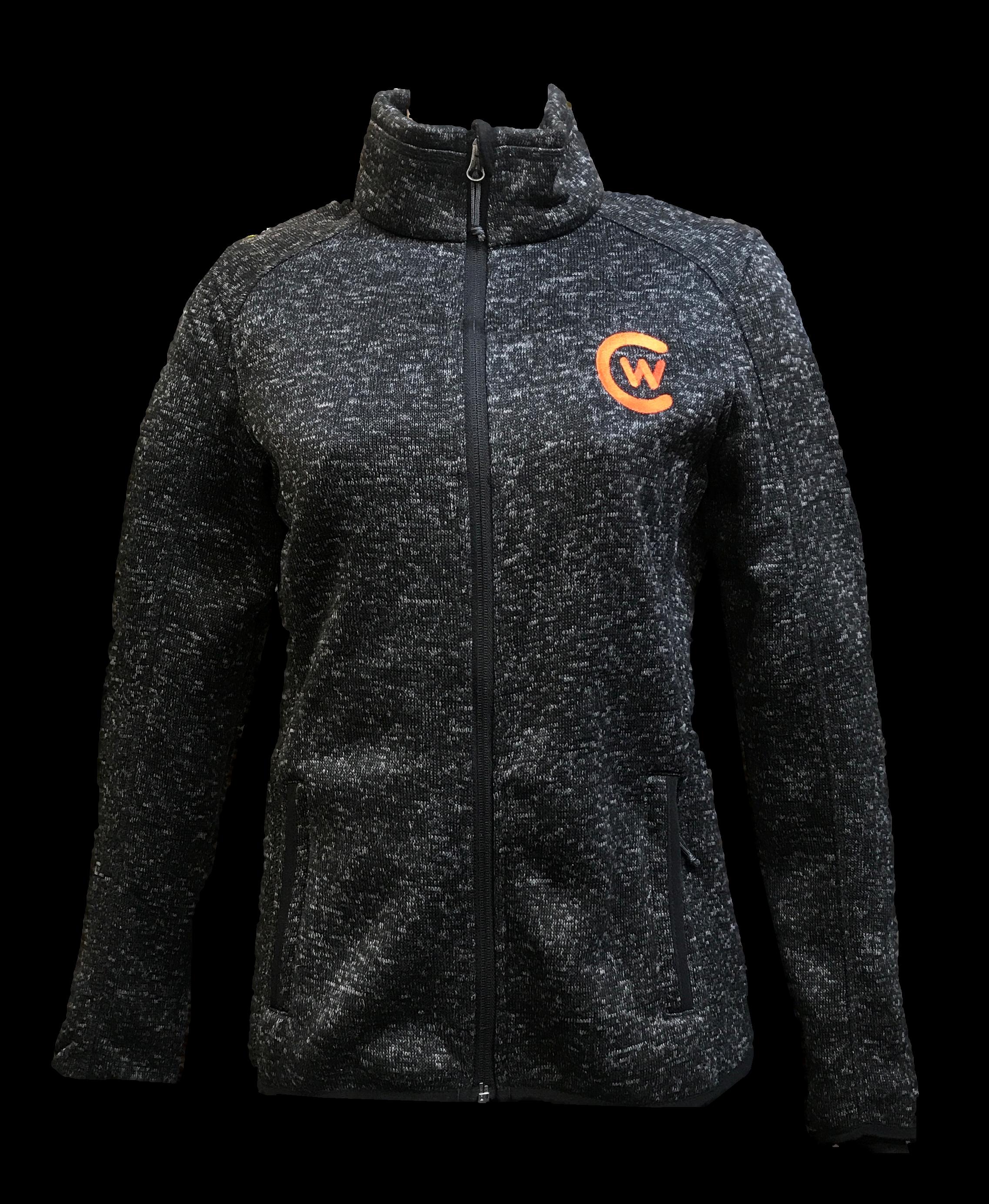 Women's Fleece Zip Sweater Jacket