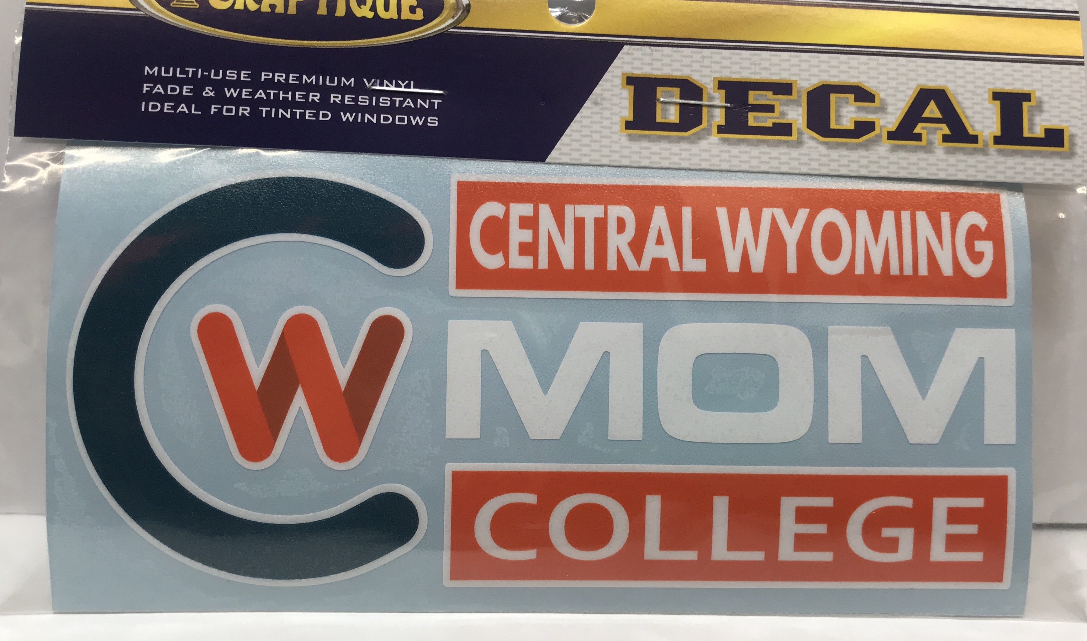 "CWC Mom 6"" Window Decal"