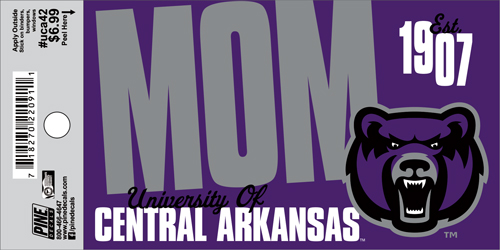 "3""x5"" UCA Mom Decal"